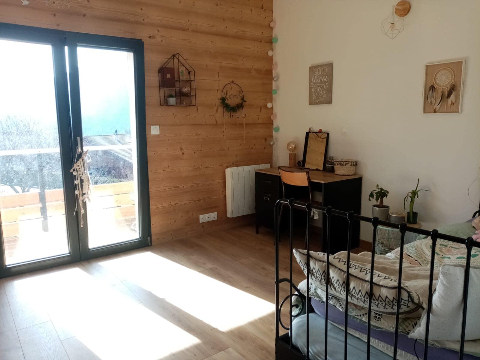 intérieur habitat en bois