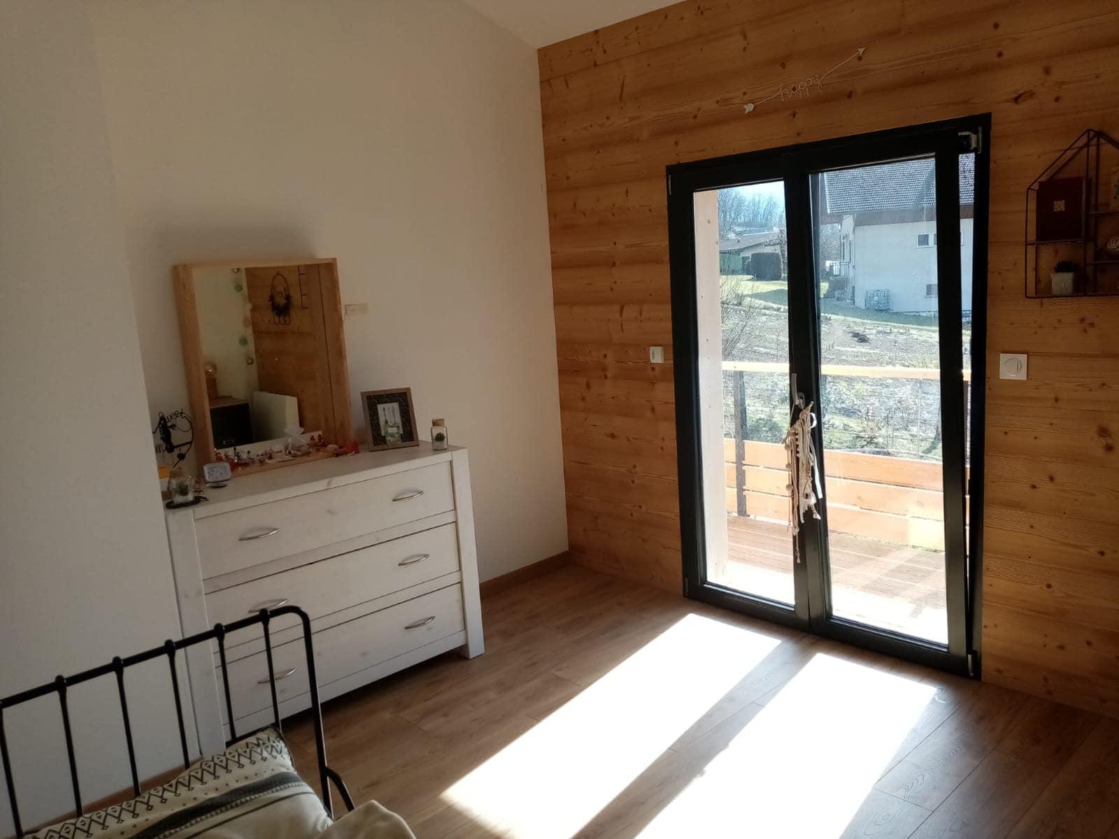 intérieur maison en bois kit