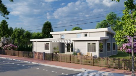 Maison en rondins et madriers - 100m² - 3 chambres - plain pied - OLIVIER