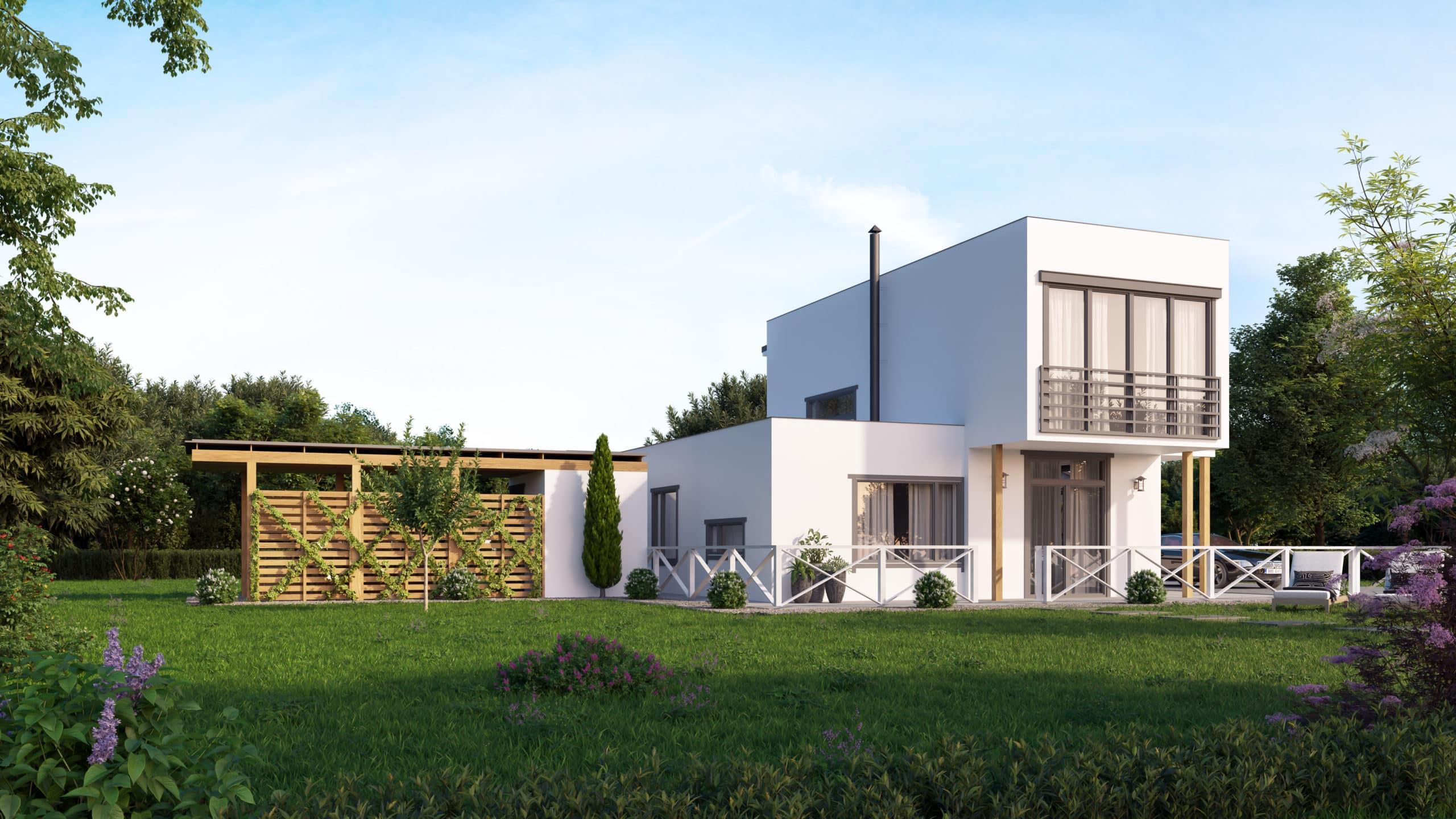 modèle LOTUS - maison préfabriquée avec ossature bois