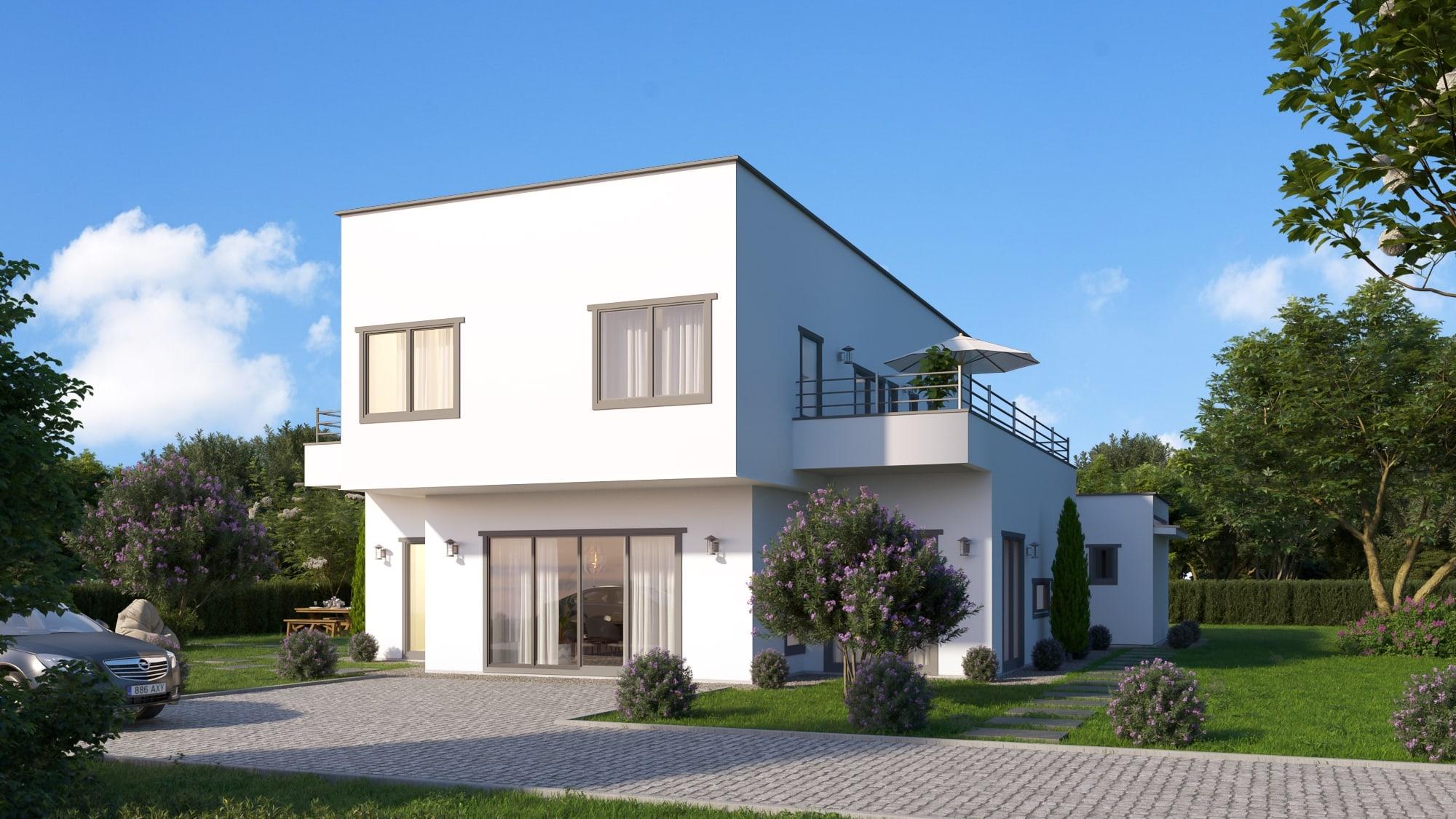 modèle NACRE - maison préfabriqué avec ossature bois