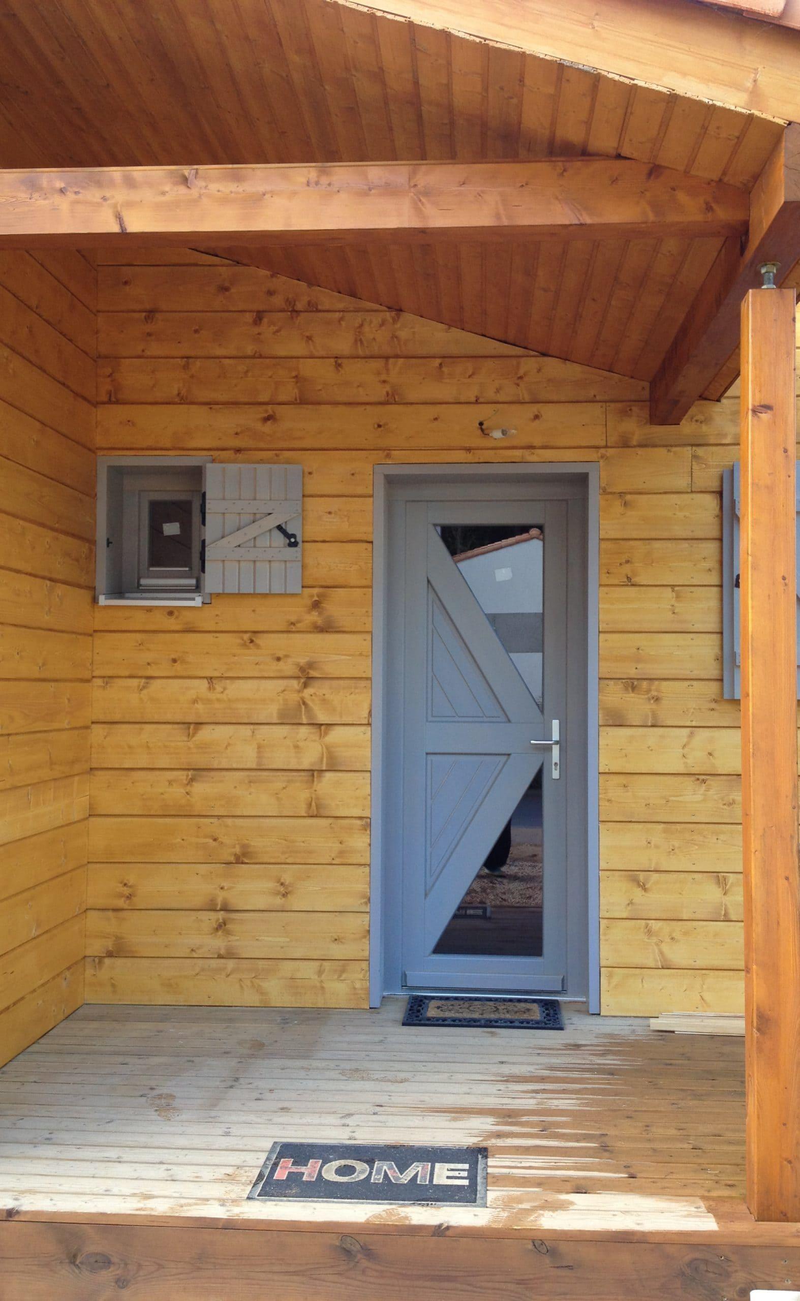 autoconstruction maison madrier bois