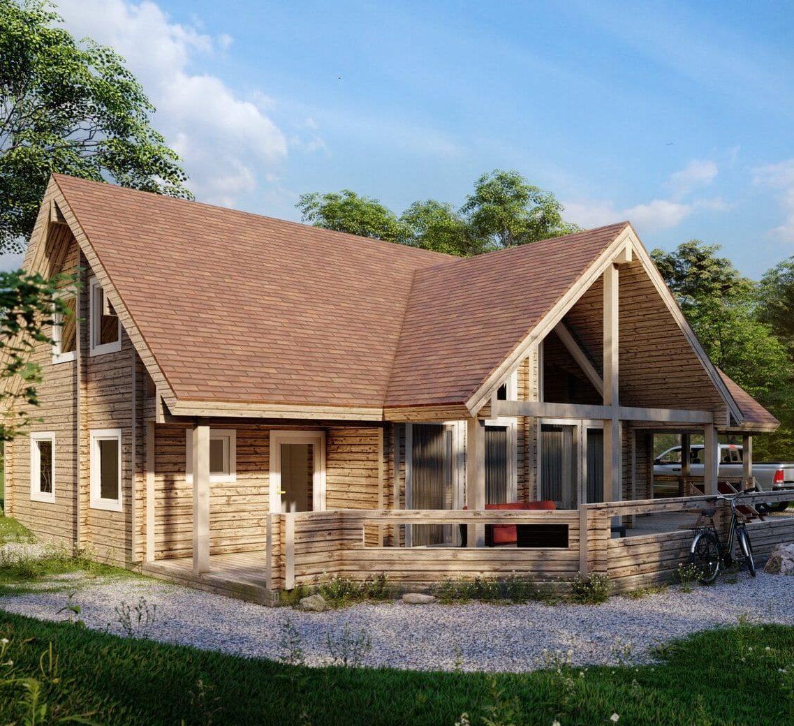 expert de la construction de chalet et maison en bois