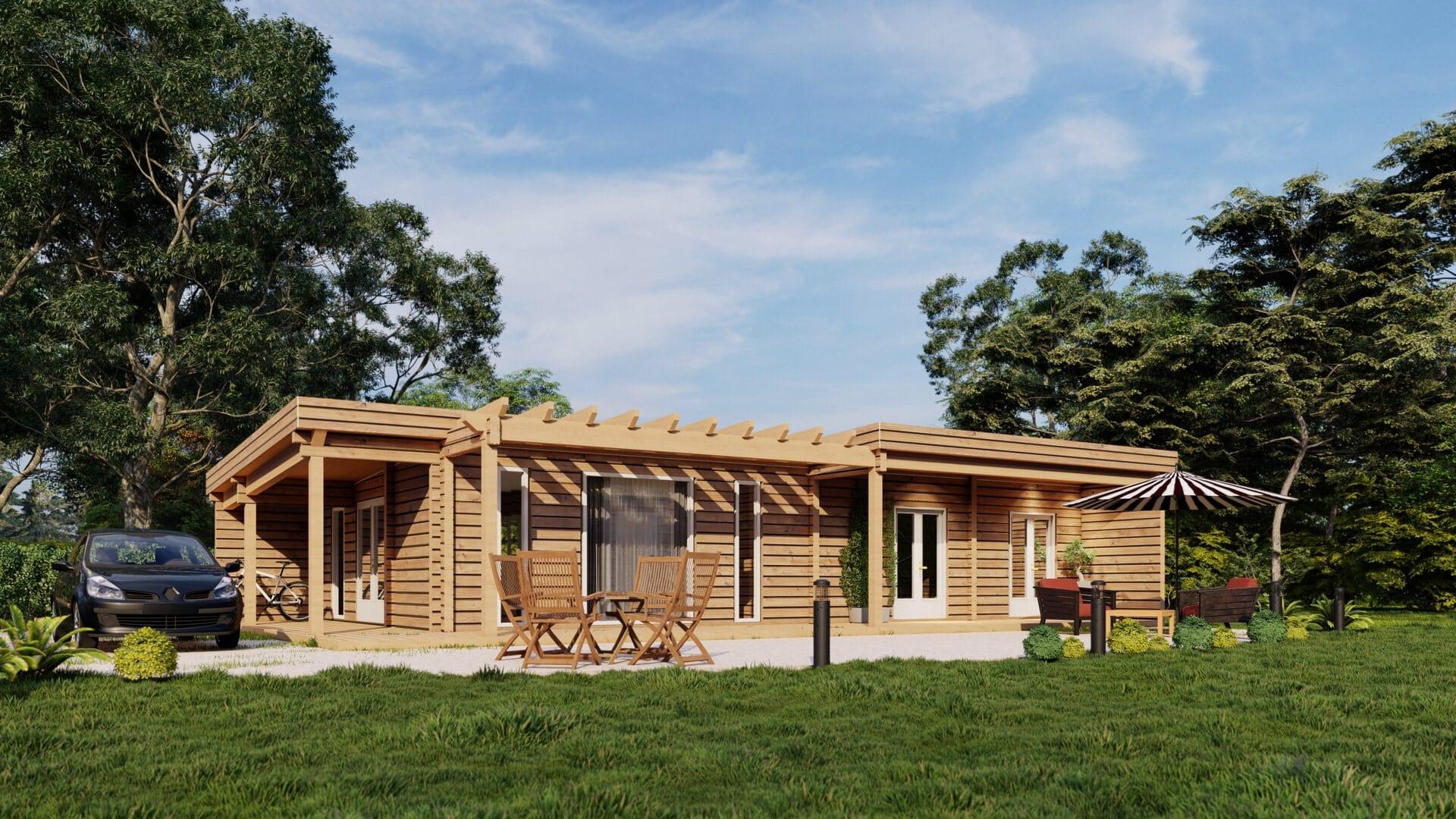 chalet et maison à ossature bois