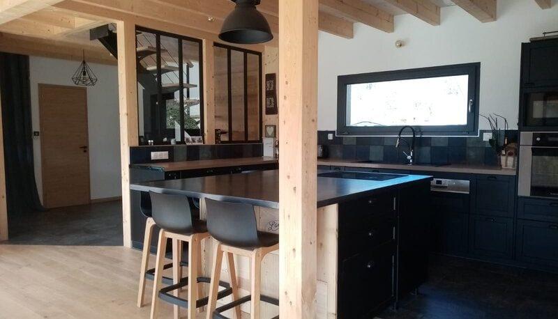 habitat en bois kit